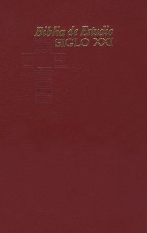 9780311488407: Biblia de Estudio Siglo XXI-RV 1989 (Spanish Edition)