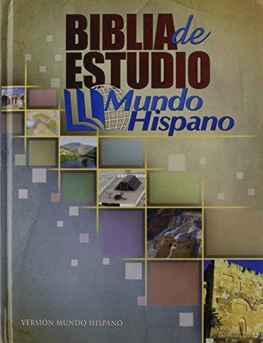 9780311488902: Biblia de Estudio Mundo Hispano (Tapa Dura) (Spanish Edition)