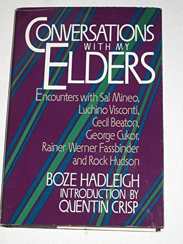 9780312001155: Conversations With My Elders