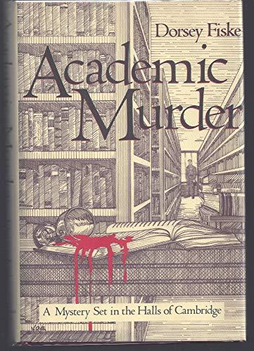9780312002039: Academic Murder