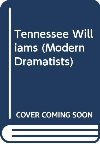 Tennessee Williams (Modern Dramatists): Boxill, Roger