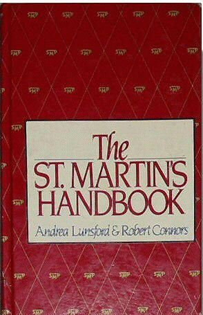 The St. Martin's handbook: Andrea A Lunsford