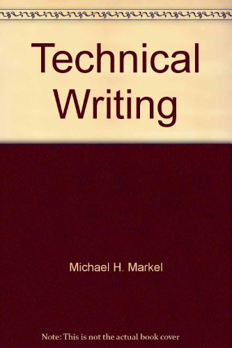 9780312002695: Technical writing: Situations and strategies