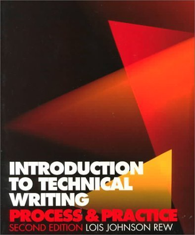 9780312002718: Introduction to technical writing: Process and practice