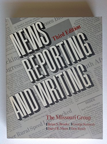 9780312002794: News reporting and writing