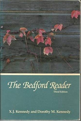 9780312003593: THE BEDFORD READER Third Edition