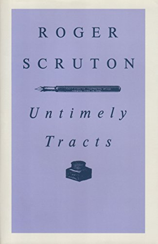 9780312004941: Untimely Tracts