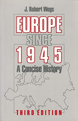 9780312009724: Europe since 1945: A concise history