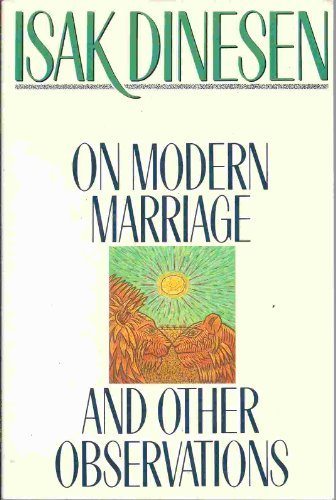 9780312010744: On Modern Marriage and Other Observations