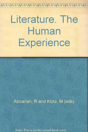 9780312012687: Literature, the human experience