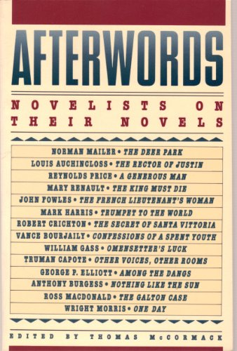 9780312013820: Afterwords: Novelists on Their Novels