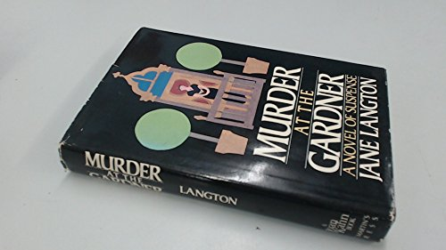 Murder at the Gardner: A Novel of Suspense