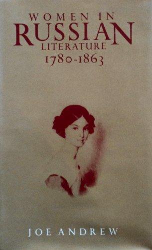 9780312016265: Women in Russian Literature, 1780-1863