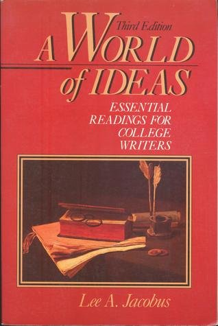 9780312020118: A World of ideas: Essential readings for college writers