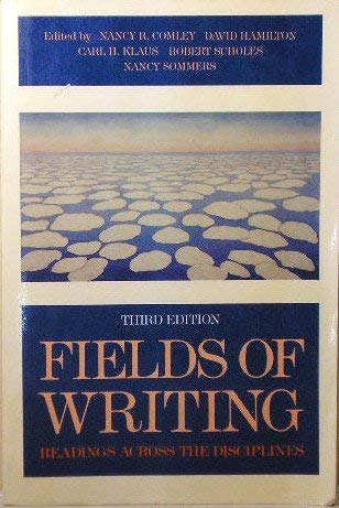 9780312020972: Fields of writing: Readings across the disciplines
