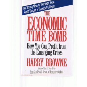 9780312025816: The Economic Time Bomb: How You Can Profit from the Emerging Crises