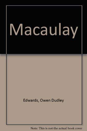 9780312027278: Macaulay (Historians on historians)