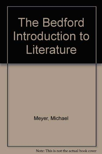 The Bedford introduction to literature.: MEYER, M.