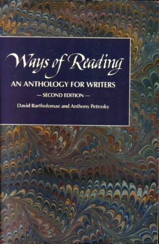 9780312030773: Ways of reading: An anthology for writers