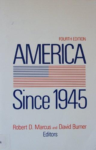 9780312031176: America since 1945