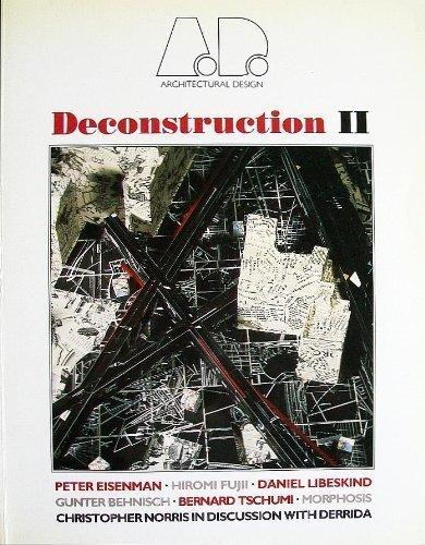 9780312031596: Deconstruction II (Architectural Design Profile)