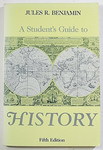 9780312031688: A Student's Guide to History