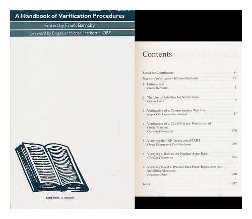 9780312032586: Handbook of Verification Procedures