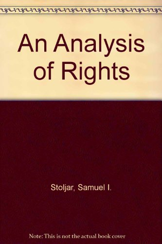 9780312032838: An Analysis of Rights