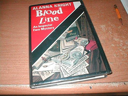 9780312032951: Blood Line: An Inspector Faro Mystery