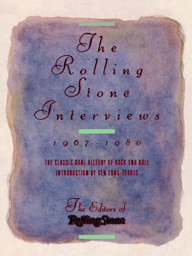 9780312034863: The Rolling Stone Interviews: Talking With the Legends of Rock & Roll, 1967-1980