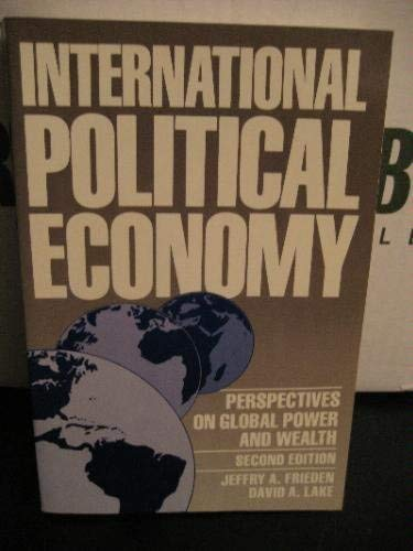 9780312037185: International Political Economy: Perspectives on Global power and Wealth