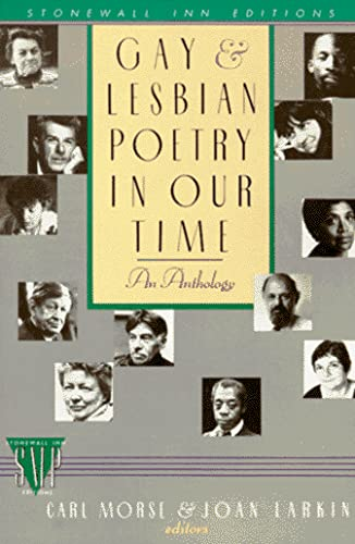 9780312038366: Gay and Lesbian Poetry in Our Time (Stonewall Inn Editions)
