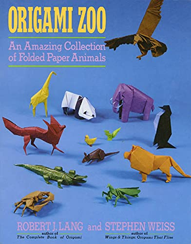 9780312040154: Origami Zoo: An Amazing Collection of Folded Paper Animals