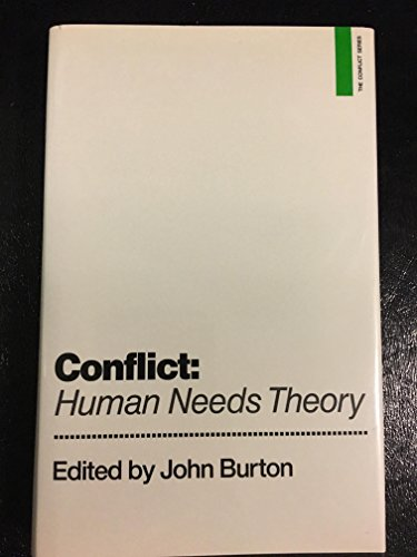 9780312040345: Conflict: Human Needs Theory (Conflict Series)
