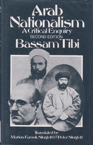 9780312042349: Arab Nationalism: A Critical Enquiry