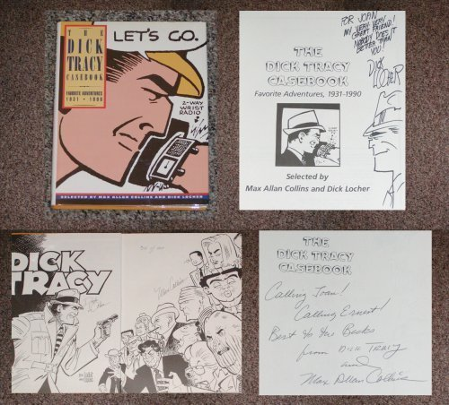 The Dick Tracy Casebook: Favorite Adventures, 1931-1990: Collins, Max;Locher, Dick