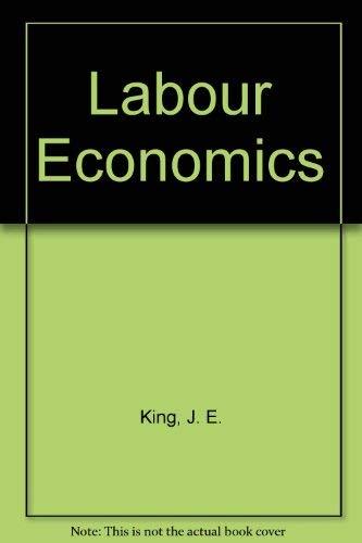 9780312044848: Labour Economics