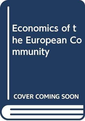 9780312045692: Economics of the European Community: 3rd Edition