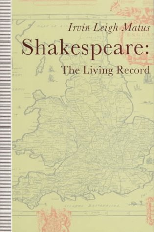 9780312047047: Shakespeare: The Living Record