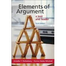 9780312049102: Elements of argument: A text and reader