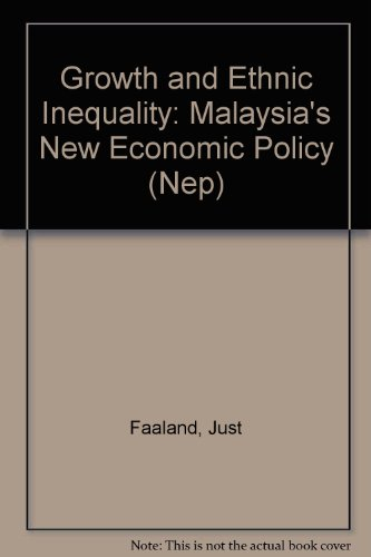 9780312049331: Growth and Ethnic Inequality: Malaysia's New Economic Policy (Nep)