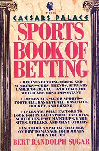 The Caesars Palace Book of Sports Betting (0312050585) by Bert Randolph Sugar