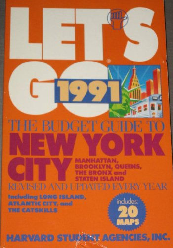 Let's Go: New York City 1991: Agencies, Harvard Student
