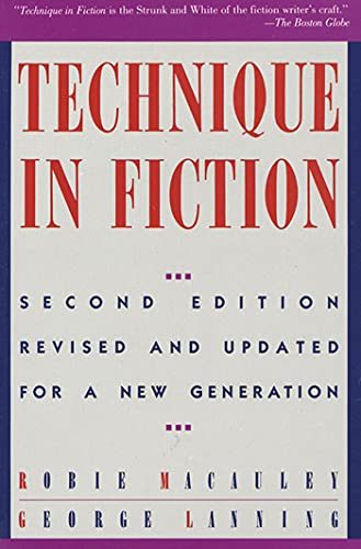 9780312051686: Technique In Fiction, Second Edition: Revised and Updated for a New Generation
