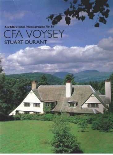 C F A Voysey. (CFA): Stuart Durant.