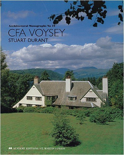 9780312052058: C. F. A. Voysey (Architectural Monographs No 19)