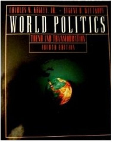 9780312052348: World Politics Trend and Transformation