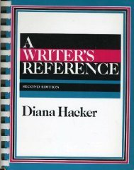 Writers Reference Edition: Diana Hacker