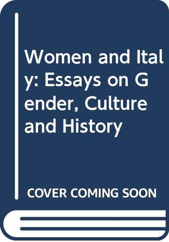 9780312056117: Women and Italy: Essays on Gender, Culture and History