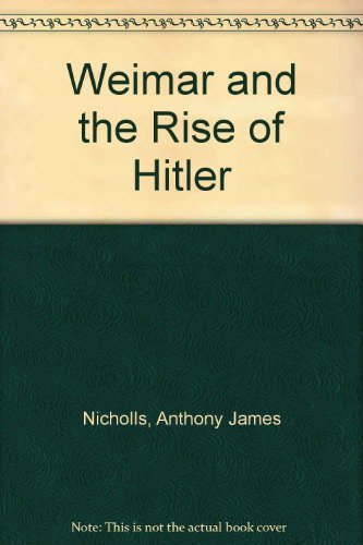9780312057138: Weimar and the Rise of Hitler